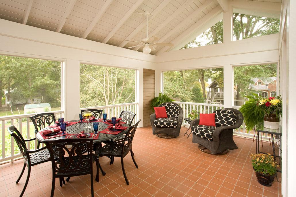 Decatur craftsman renewal design for 3 season porch ideas