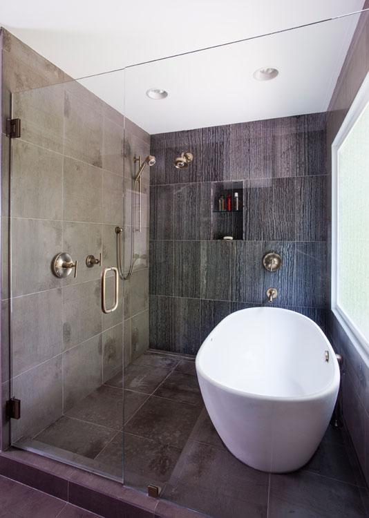 Master Bathroom Shower & Tub