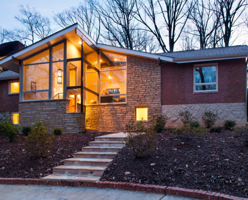 Atlanta ranch home remodeling renewal design build Home designers atlanta