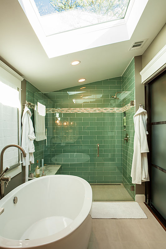 Redesigning the master bathroom in your home renewal design for Renew bathroom